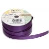 Flat Leather 10x2mm (5m Spool) Metallic Purple
